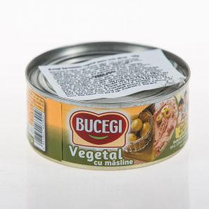 BUCEGI 120G PATE VEGETAL CU MASLINE/60 VEGETARIAN SPREAD WITH OLIVES