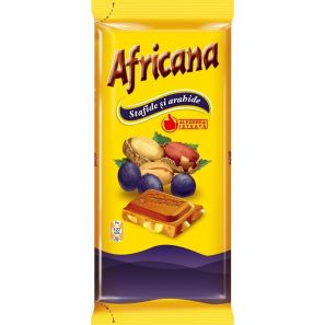 AFRICANA PEANUTS AND RAISINS CHOCOLATE 90G