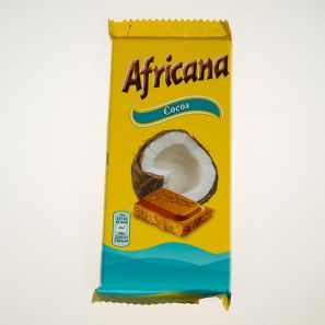 AFRICANA COCONUT CHOCOLATE 90G