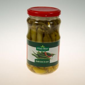 ALEXSTAR PICKLED HOT PEPPERS 370ML (12 X 370ML)
