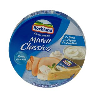 HOCHLAND BR.TOP MIXETT CLASSICO 140G/HOCHLAND MELTED CHEESE MIXETTE CLASSICO 140G