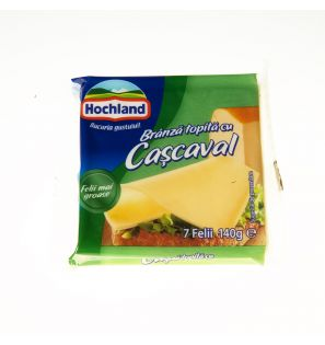 HOCHLAND FELII BR.TOP.CASCAVAL 140G/HOCHLAND MELTED PRESSED CHEESE 140G