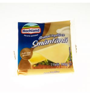 HOCHLAND FELII BR.TOP.SMANTANA 140G/HOCHLAND MELTED CHEESE WITH CREAM 140G