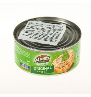 MANDY FOODS PATE VEGETAL ORIGINAL  120G/MANDY FOODS ORIGINAL VEGETAL PATE 120G