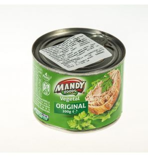 MANDY FOODS PATE VEGETAL ORIGINAL  200G/MANDY FOODS ORIGINAL VEGETAL PATE 200G