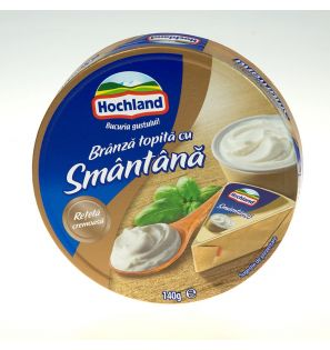 HOCHLAND BR.TOP SMANTANA 140G/HOCHLAND MELTED CHEESE WITH CREAM 140G
