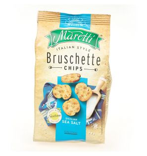 BRUSCHETTI SEA SALT 70G/12