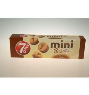 7 DAYS MINI BISCUITS CHOCOLATE 100G