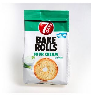 BAKE ROLLS SOURCREAM&ONION 80G