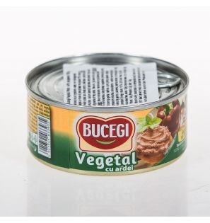 BUCEGI 120G PATE VEGETAL CU ARDEI/60 VEGETARIAN SPREAD WITH PEPPERS