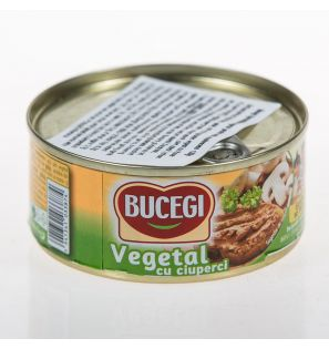 BUCEGI 120G PATE VEGETAL CU CIUPERCI/60 VEGETARIAN SPREAD WITH MUSHROOMS