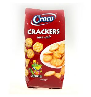 CROCO CRACKERS SARE 400G/15
