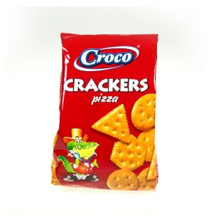 CROCO CRACKERS PIZZA 100G/12 CROCO CRACKERS PIZZA 100G