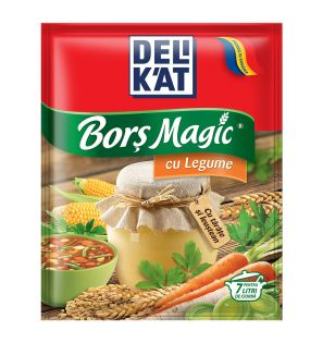 DELIKAT BORS MAGIC LEGUME 18X70G/DELIKAT VEGETABLES MAGIC SOUP 70G