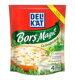 DELIKAT BORS MAGIC SMANTANA 18X40G/DELICAT CREAM MAGIC SOUP 40G
