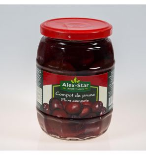 ALEXSTAR PLUMS IN LIGHT SYRUP 720ML
